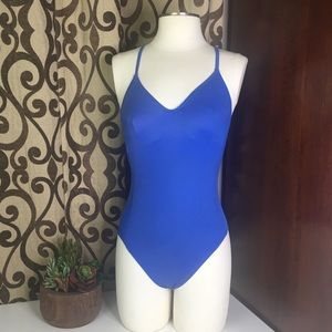 Victoria Secret Brilliant Blue One Piece swum suit